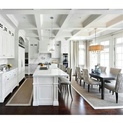 white kitchen and dining room 25 best ideas about kitchen dining combo on