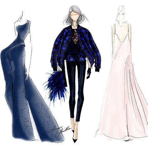 design fashion new york fall 2014 new york fashion week designer sketches