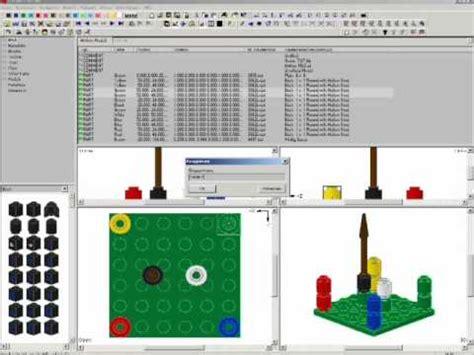 Lego Mlcad Tutorial | mlcad 3d lego tutorial 2 2 youtube