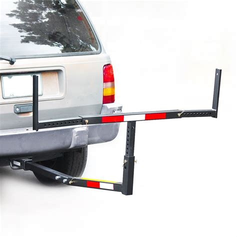 pickup bed boat rack pick up truck bed hitch extender extension rack ladder