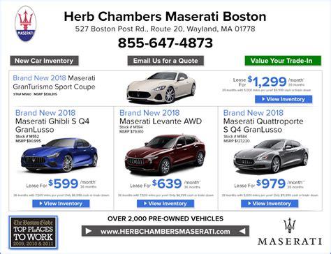 Herb Chambers Maserati by Herb Chambers Maserati Autos Post