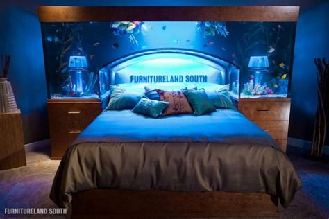 aquarium bed awesome aquarium bed lets you sleep with the fishes my