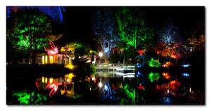 festival of lights pukekura park new plymouth nz