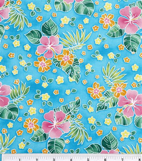 jo ann fabric jo ann stores novelty cotton fabric tossed tropical