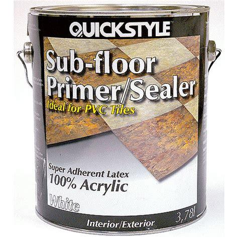 Vinyl Floor Primer by 3 78 L Sub Floor Primer Sealer Rona