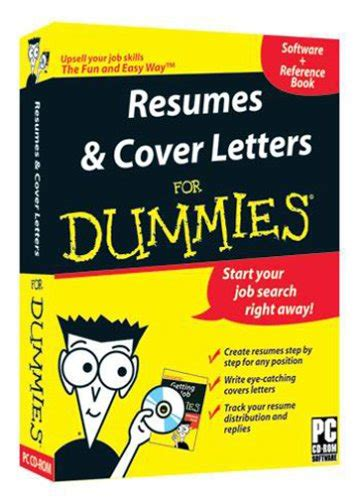 business letters dummies resumes and cover letters for dummies 0881362040053