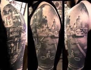 11 incredible new york city tattoos tattoo com