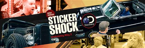 Sticker Shock Discovery Channel