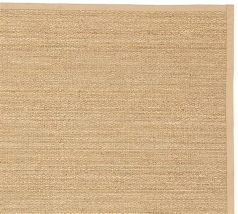 Fibreworks 174 Custom Color Bound Seagrass Rug Natural Pottery Barn Seagrass Rug