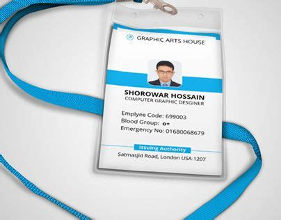 employee id card template free behance 13 best employee badge design images on badge