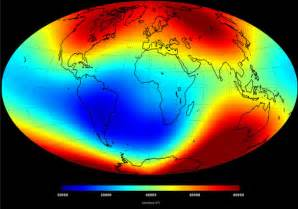 Strength Of Earth S Magnetic Field In Tesla Current Magnetic Field Map Confirms 3 Magnets