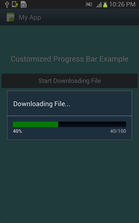 android progress bar custom progress bar in android free wallpaper dawallpaperz