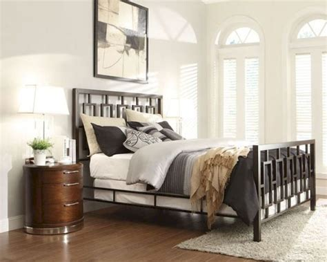 metal bedroom sets homelegance bedroom set w metal bed zelda el2865set
