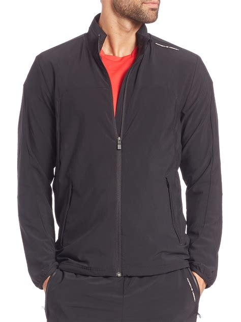 porsche design dress lyst porsche design track jacket in black for men