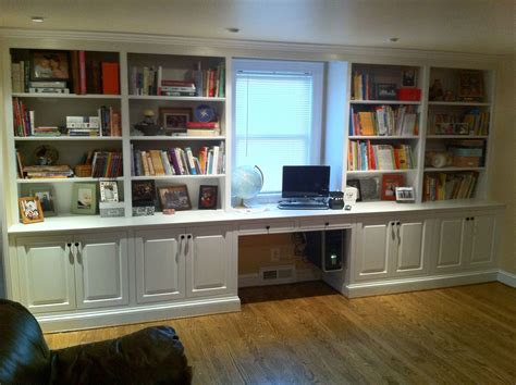 made built in bookcase by j s woodworking