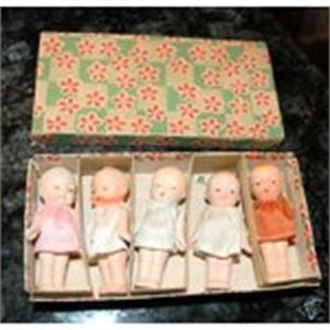 dionne bisque doll occupied japan bisque dionne quint quintuplet dolls box