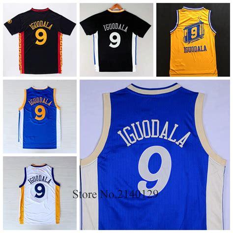 andre iguodala new year jersey 2016 mens 9 andre iguodala golden state basketball jerseys