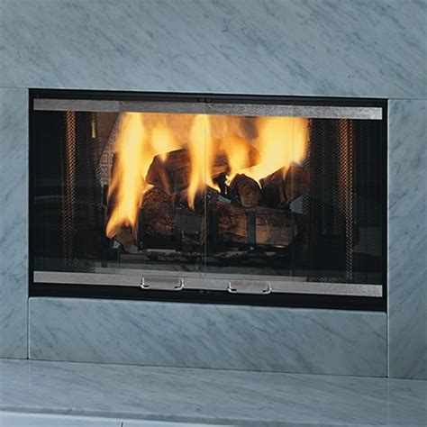 See Through Wood Fireplace by Monessen Designer See Through Wood Burner Fireplace 36 Quot