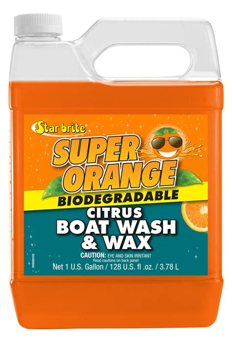 bass pro boat wax super orange citrus boat wash wax