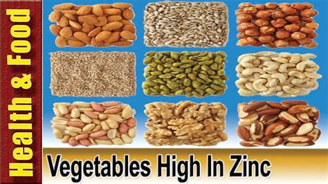 6 vegetables in vegetables high in zinc 6 vegetables highest in zinc