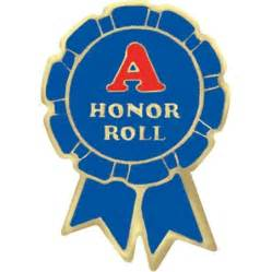 Student awards award pins honor roll a honor roll award pin