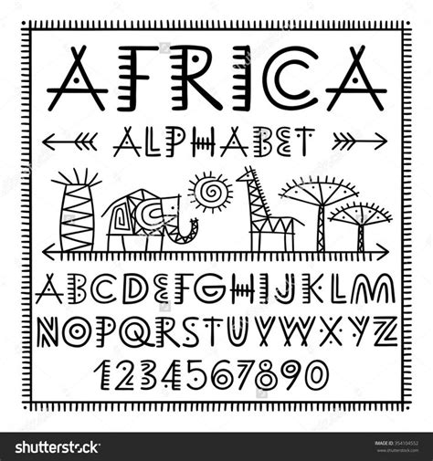 african pattern font 28 best african typography and patterns images on