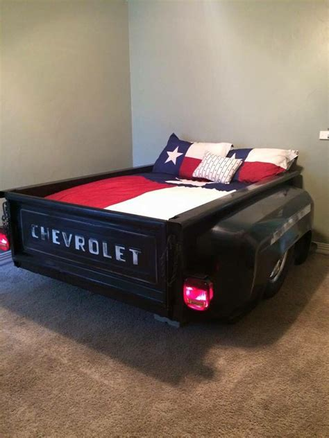 Chevrolet Bed A Bed Made From The Bed Of A Classic Chevy How