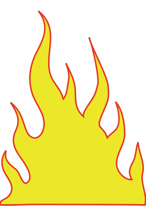 flames clipart pic of flames cliparts co
