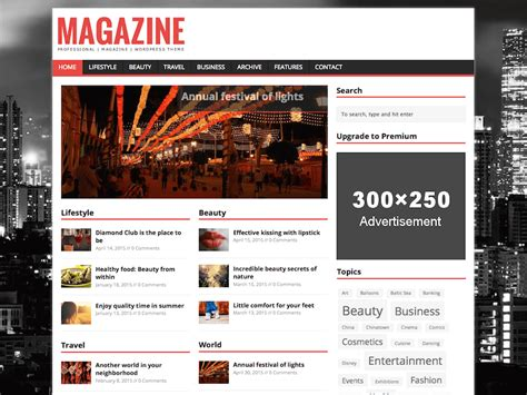 25 Best Free Responsive Magazine Wordpress Themes 2018 25 Best Free Responsive Magazine