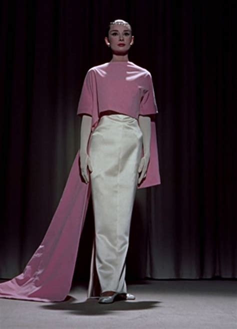 Audreys Pink Dress Now Up For Sale by Hepburn Continues To Inspire Style Is Still In