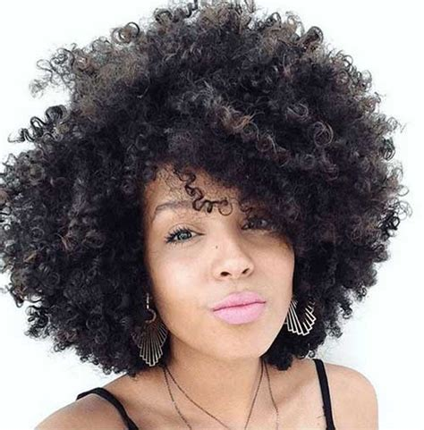women hairstyle gallery for afros cut close 25 short curly afro hairstyles short hairstyles 2017
