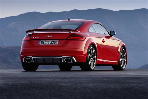 2017 audi tt rs revealed most powerful with new 2 5t