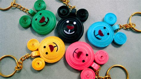 How To Make Paper Design - paper quilling designs micky mouse paper quilling