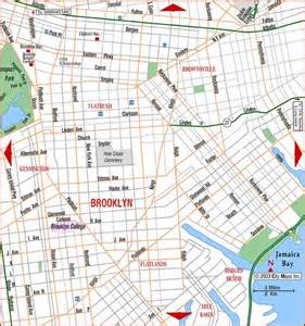 Map Of Brooklyn New York by Permalink Road Map Of Brooklyn Flatbush Brooklyn New York