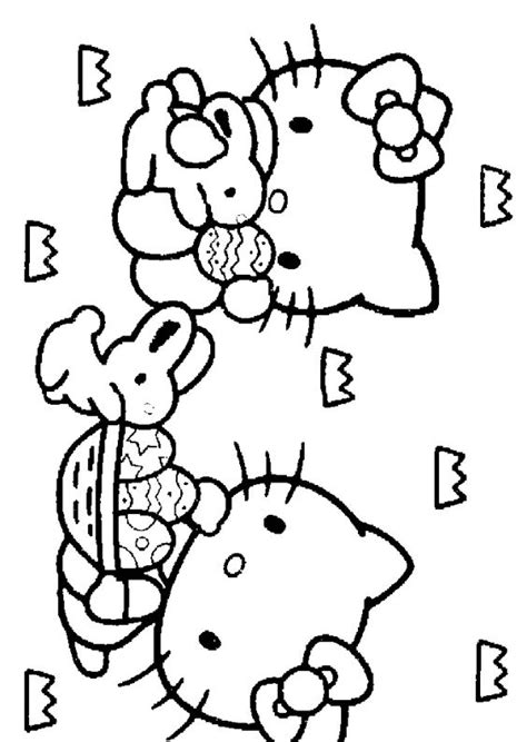 Hello Coloring Pages Easter by Hello Coloring Pages For Easter Easter Colouring