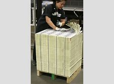 New $100 bills roll off the printer | The Baylor Lariat $100 Bill Stack