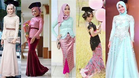 kebaya modern untuk wisuda warna pink 15 inspirasi model kebaya modern tuk hadiri berbagai acara