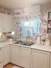 Kitchen Small Island 32 Sweet Shabby Chic Kitchen Decor Ideas To Try Shelterness