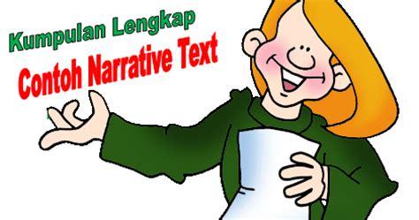 contoh narrative text pendek bahasa inggris terbaru