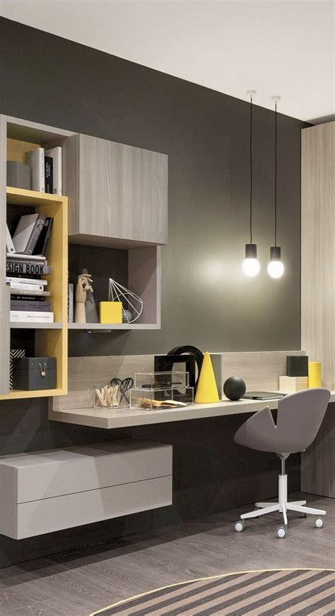 mueble melamina color madera teka italia amarillo gris