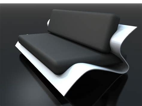 Black White Futuristic Couch | 25 best ideas about futuristic furniture on pinterest