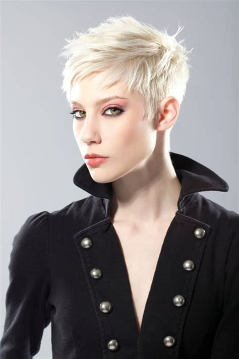 i was feminized by a short hair blonde 25 best ideas about platinum pixie cut on pinterest
