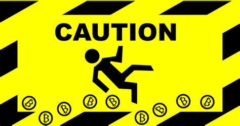 bitcoin risk clipart bitcoin caution