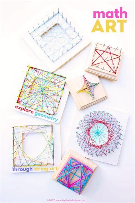 a beautiful steam project for math string