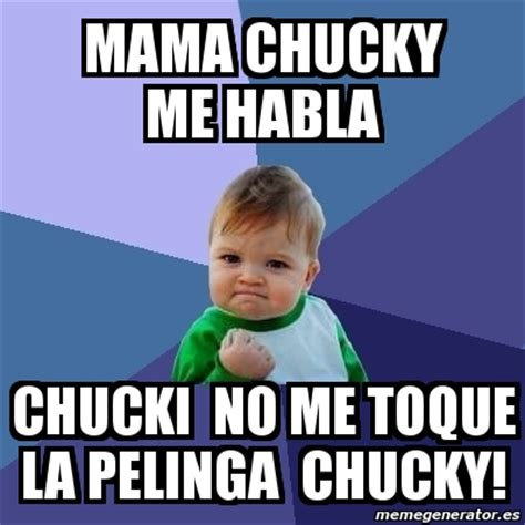 Memes Generator Espaã Ol - the gallery for gt chucky memes en espanol