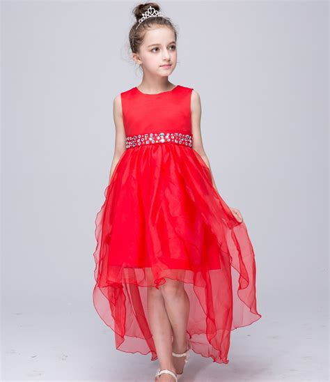 christmas frocks 2019 new year baby dress bowknot trailing gown dress