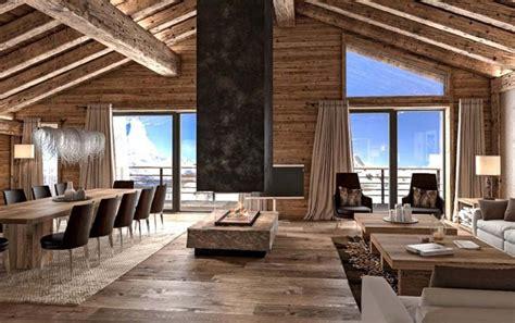 wohnzimmer chalet skandinavische schicke wohnzimmer design zu ihres winter