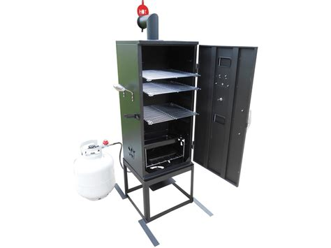 Propane Rack by King Kooker 3 Rack High Pressure Propane Smoker