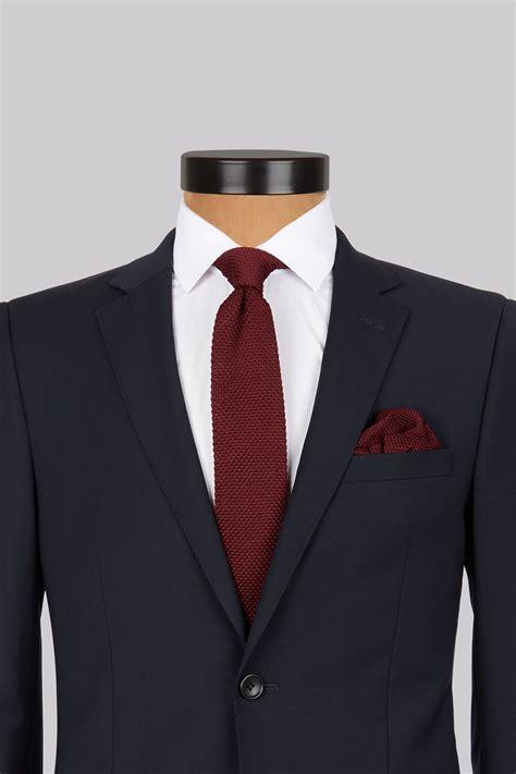 Kemeja Pocket Square 1 moss wine knitted tie