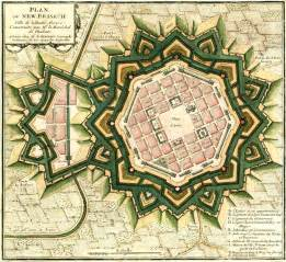 Blueprint Design File Plan Citadelle Neuf Brisach Jpg Wikimedia Commons